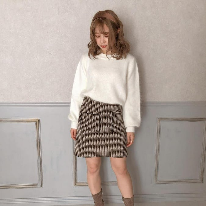 simple mofu knit