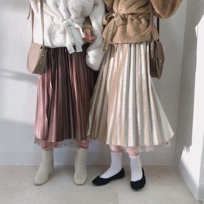 2ウェイチュールスカート