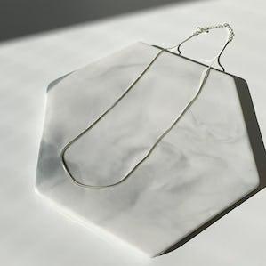 silver925 smoos necklace