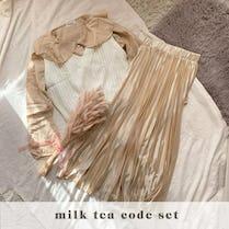 milktea girl code SET