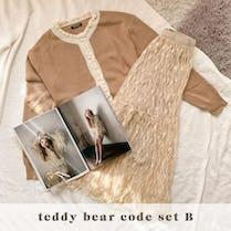 teddy bear code SET B