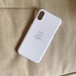 mytwilightロゴiPhoneケース IVORY