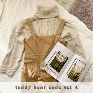 teddy bear code SET A