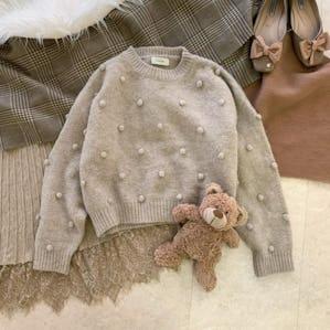 【11/25~順次発送】poko poko knit