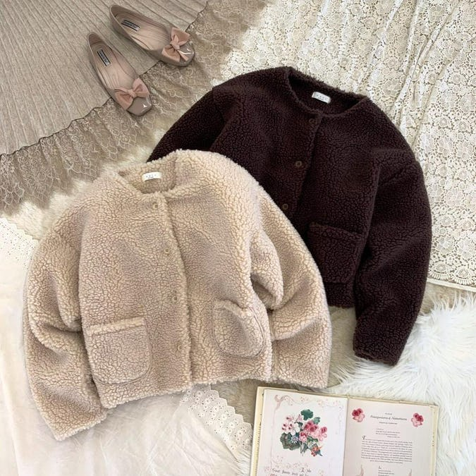 teddy bear coat-0