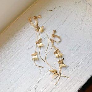 petit butterfly earring