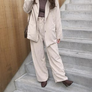 【11/28~順次発送】corduroy wide pants
