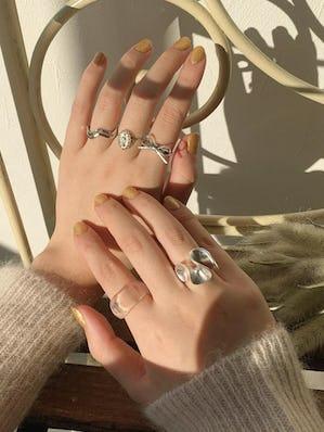 ribbon wrapping ringset