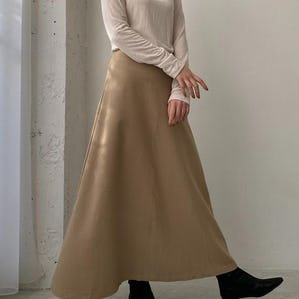 classic long skirt