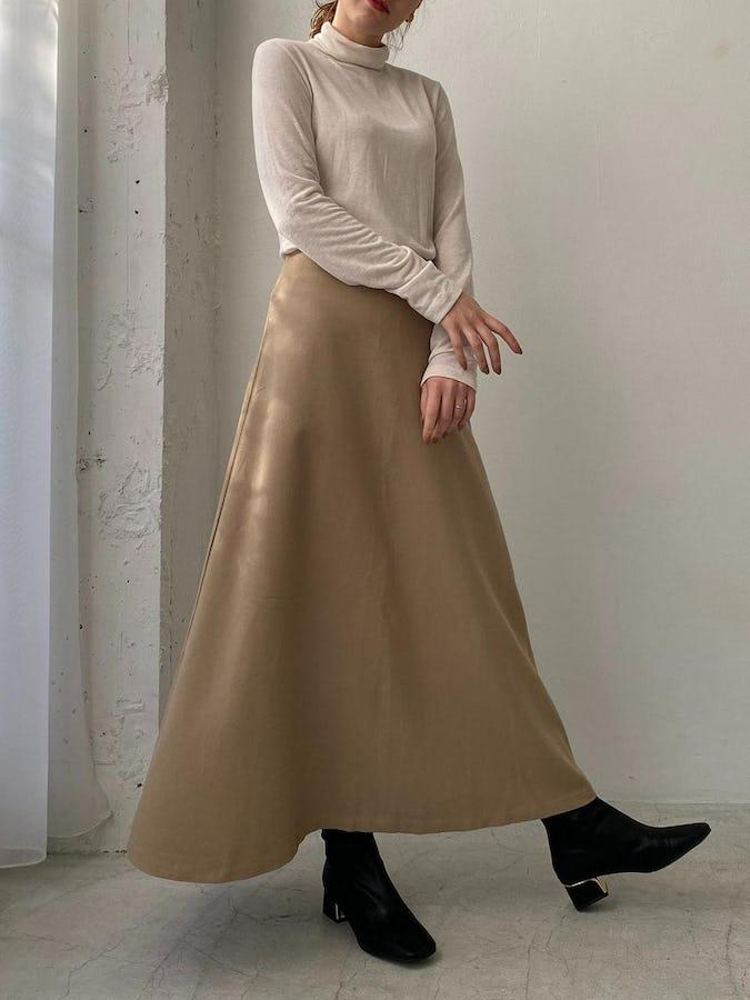 classic long skirt-0