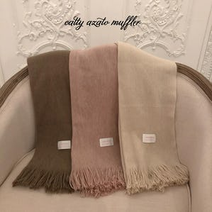 【12/18~順次発送】catty azato muffler