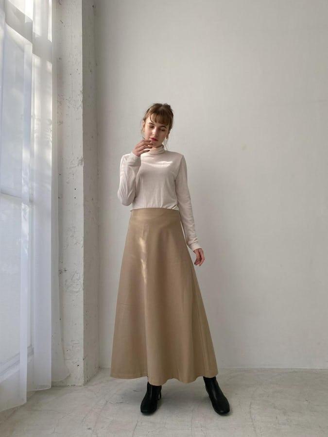 classic long skirt