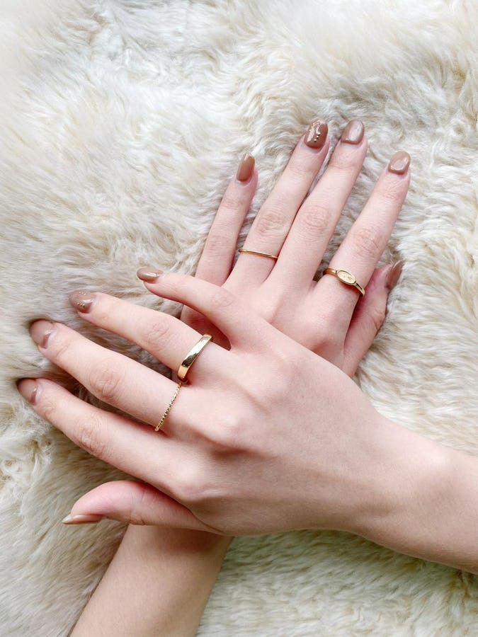 elegant rings set