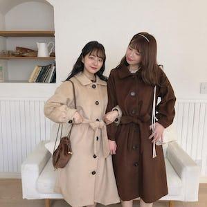 【1/15~順次発送】mellow's ribbon longcoat