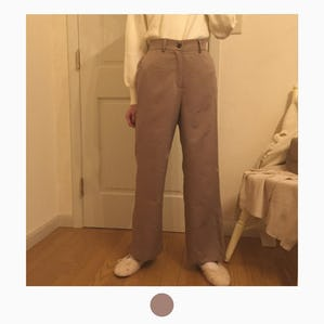cocoa macaron pants