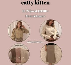 catty kitten 11/27 New item!!