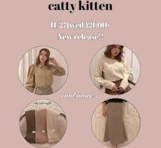 catty kitten 11/27 New item!!