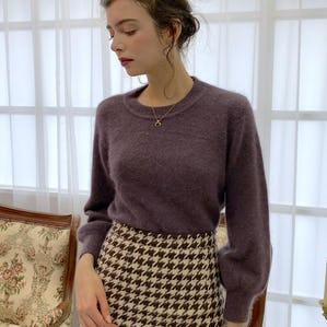 mohair volume knit