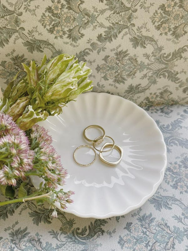 elegant rings setの画像1枚目