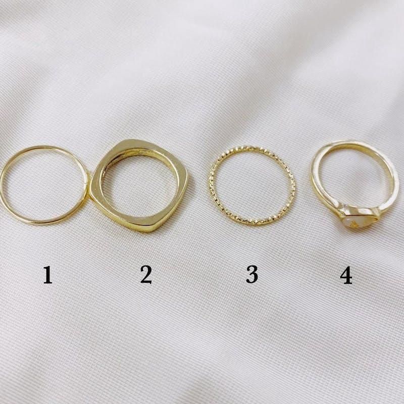 elegant rings setの画像12枚目