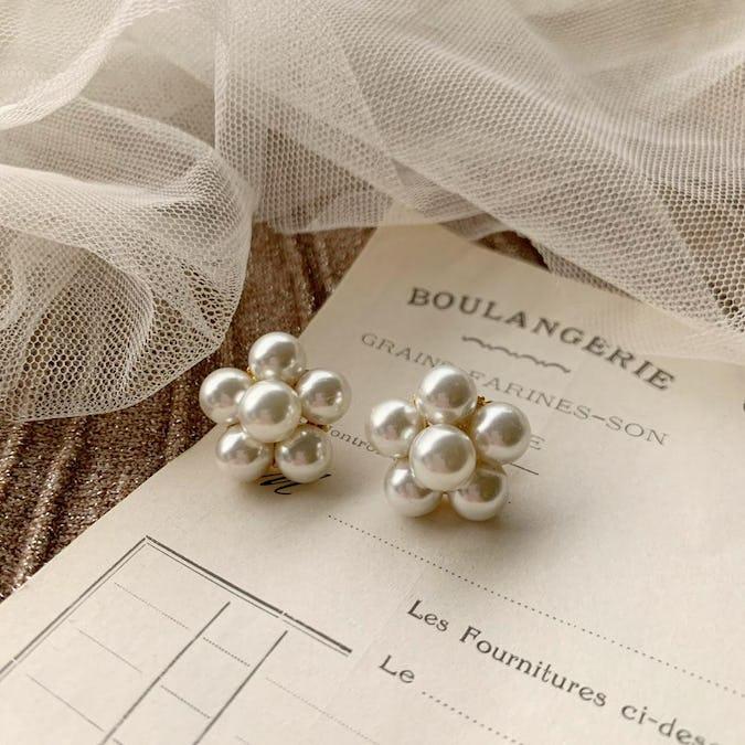 puchi puchi pearl earring-0