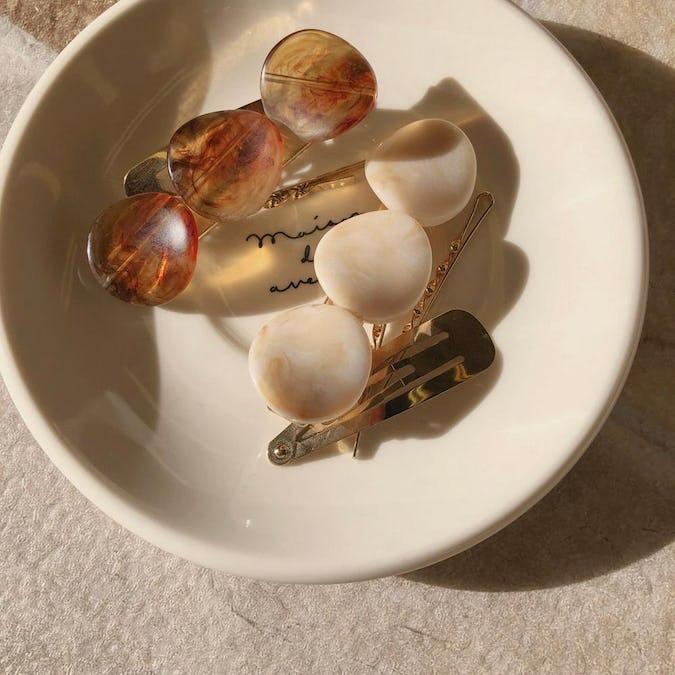 candy stone clip set