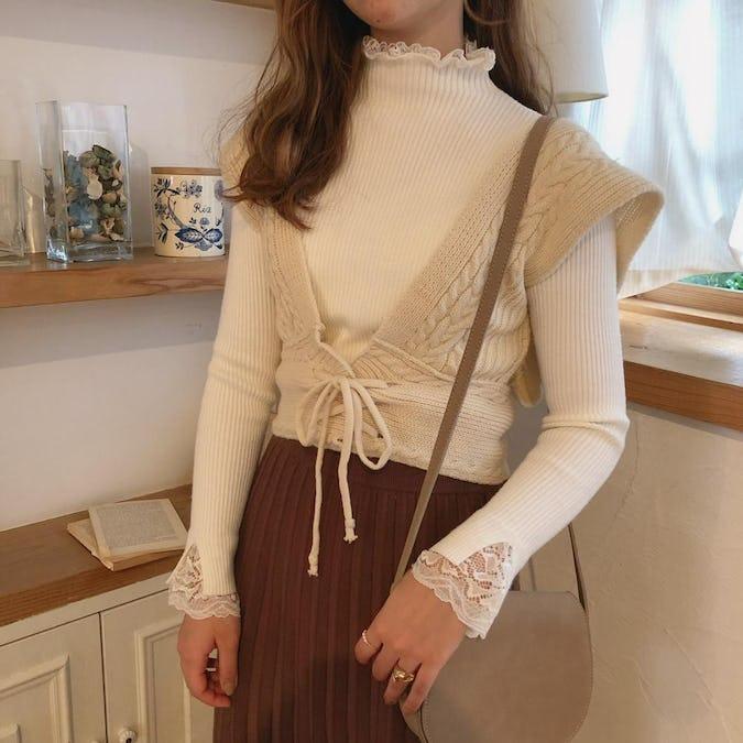 knit pleats sk