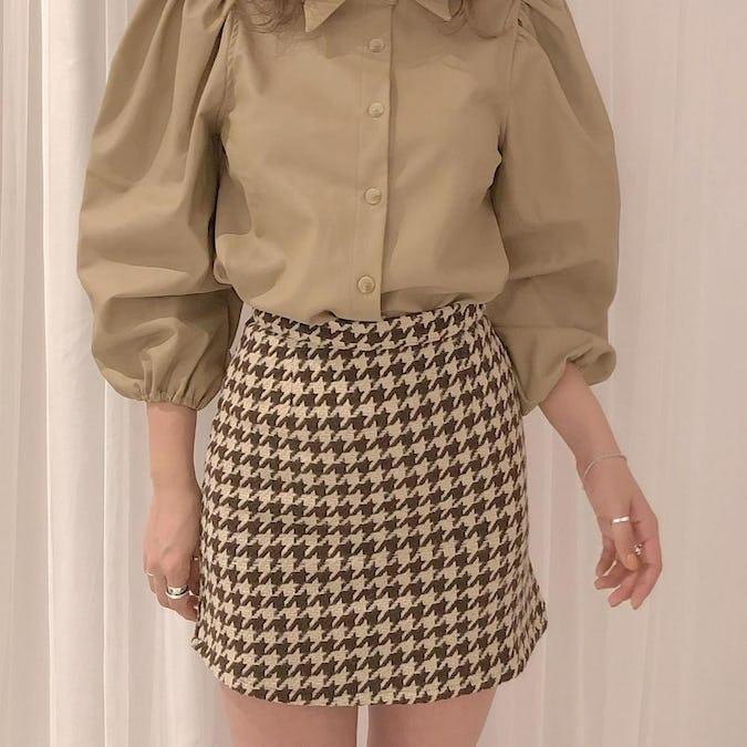 chidori mini skirt-0
