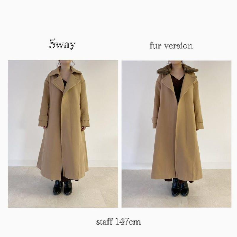 5way original fur coatの画像37枚目