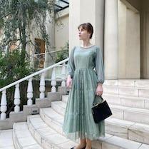 peony bouquet dress【3/3〜順次発送】