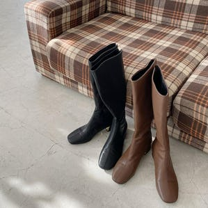 comfortable long boots