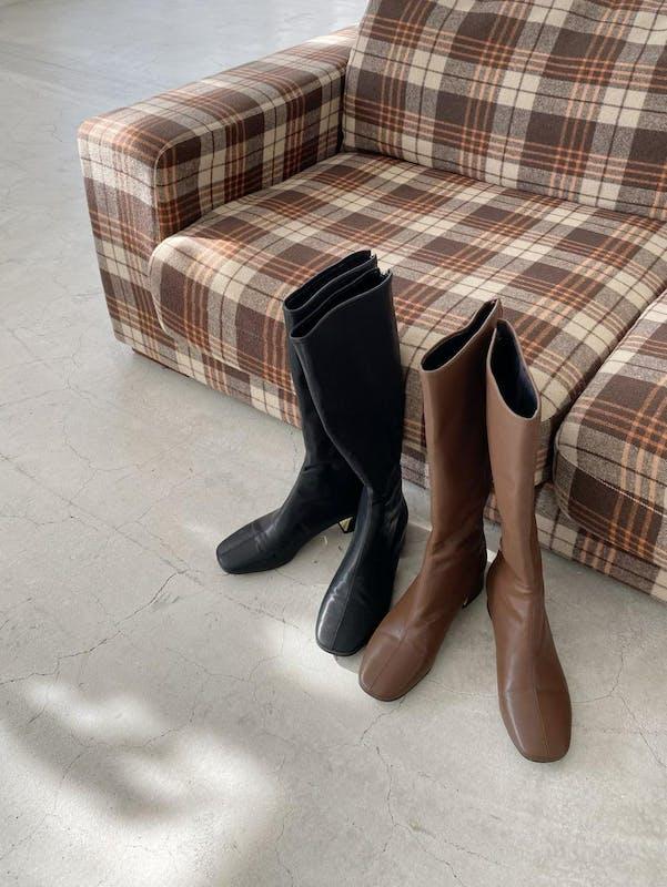 comfortable long bootsの画像1枚目