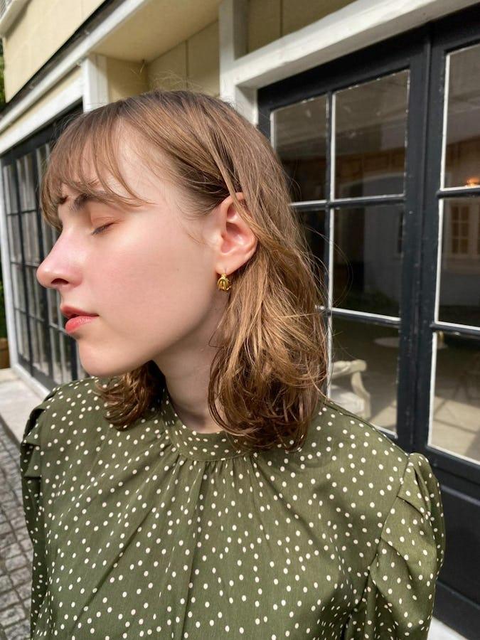 mini gold pierce