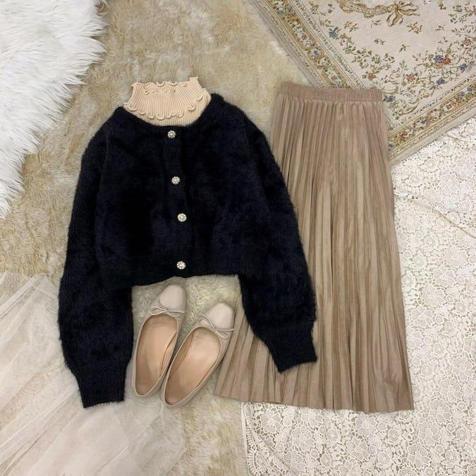 fril rib knit