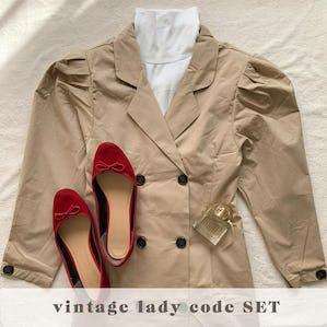 vintage lady code SET
