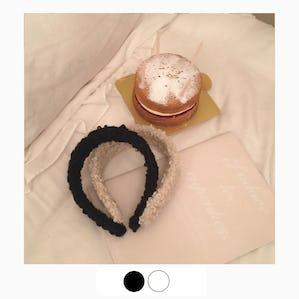 poodle headband