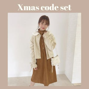 OUTER code set《quilting coat ver》