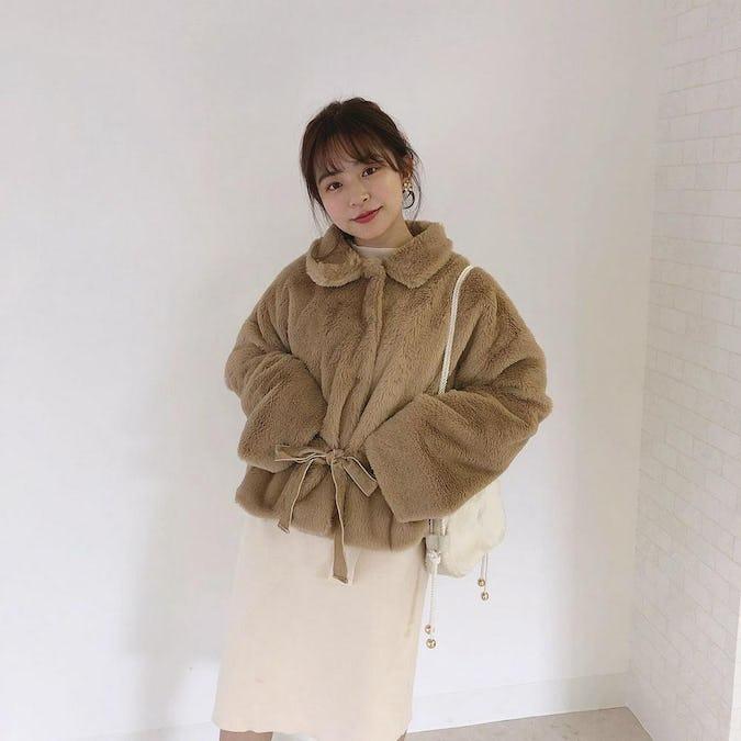OUTER code set《fur coat ver》
