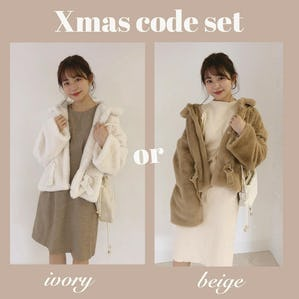 Xmas code set  《 fur coat ver 》