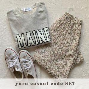 yuru casual code SET