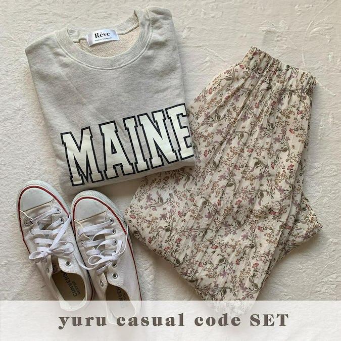 yuru casual code SET-0