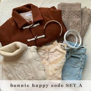 bonnie happy code SET A