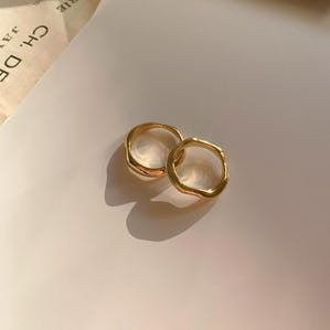 【silver 925】pair ring set GOLD