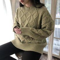 twist round knit