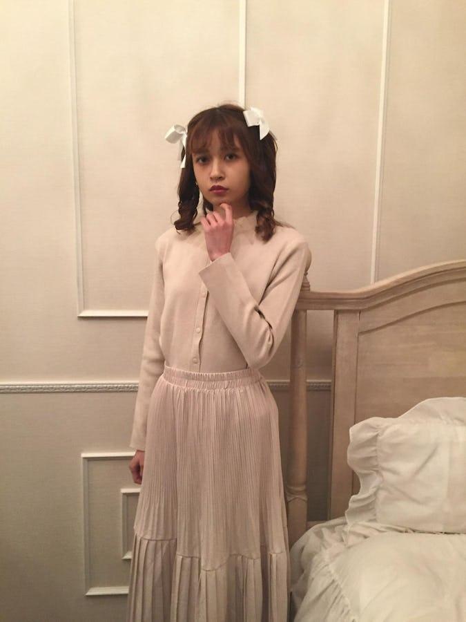 princess pleats skirt