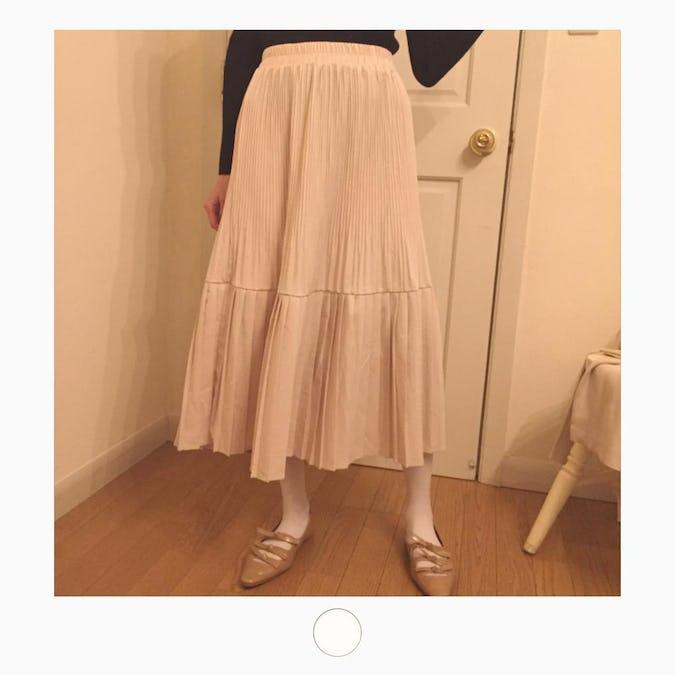 princess pleats skirt-0