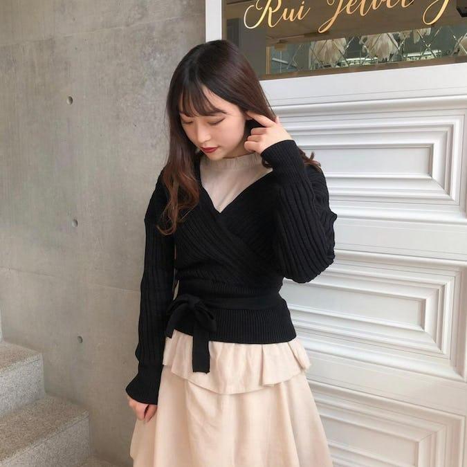 maki ribbon knit