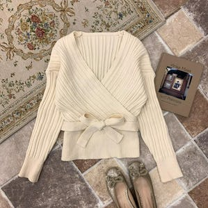 maki ribbon knit