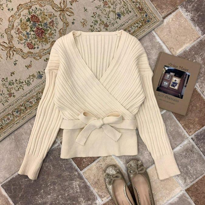maki ribbon knit-0