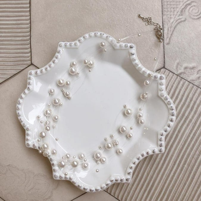 pearl pearl necklace-0
